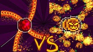 Terraria Super Yoyos : The Boundry Vs Pumpkings Yoyo Calamity Mod Boss Rush