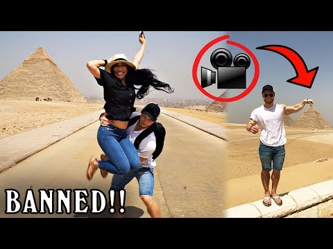 SHOWING YOU INSIDE THE PYRAMIDS!! (FORBIDDEN FOOTAGE)