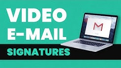 How to put a video in your e-mail signature - Gmail tutorial