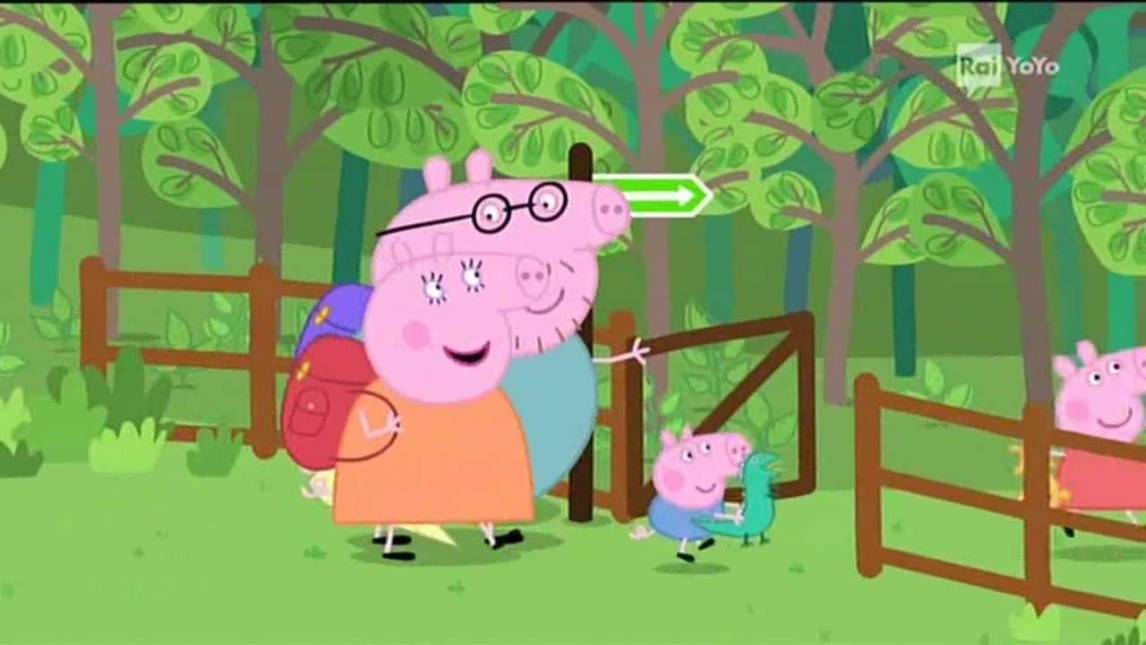 C È Una Casa Nel Bosco peppa pig - ii picnic nel bosco