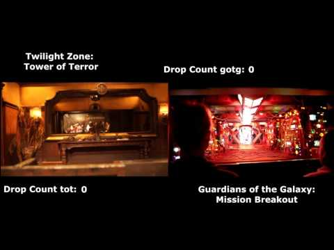 Tower of Terror vs. Mission Breakout - Attraction Comparison: Disney California Adventure