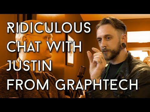 Justin Talks About His Fiddly Bits At The Endorse Expo (Graphtech Gear)
