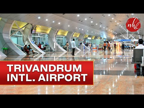 2017 Trivandrum International Airport & Dubai International Airport