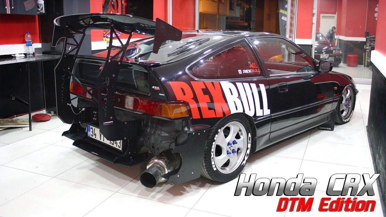 honda crx vtec dtm spoiler special design rexbull ilker s garage long version  [ 1280 x 720 Pixel ]