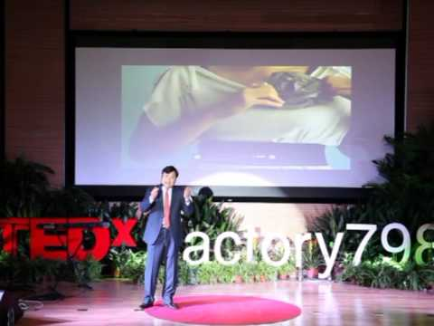 Zhang Wei At Tedxfactory798