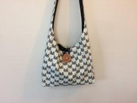 DIY Reversible Boho Bag   Crossbody bag   DIY BAG  REVERSIBLE BAG   BAG SEWING TUTORIAL