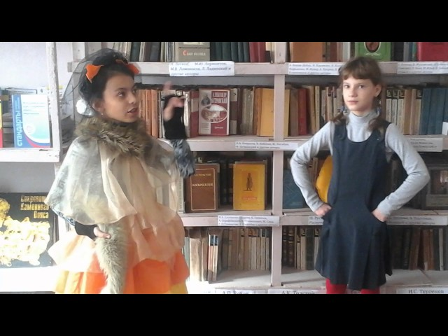 Изображение предпросмотра прочтения – «3 класс» читают произведение «Ворона и Лисица» И.А.Крылова