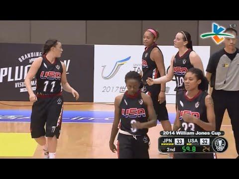 2014 William Jones Cup Woman - Savage USA vs. Japan 日本隊 - 第36屆 威廉瓊斯盃女子組
