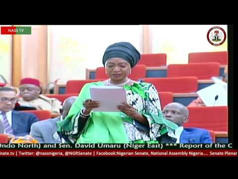 SEN  ROSE OKO SECONDING A MOTION ON THE HUMAN RIGHTS LEGAL MATTERS NATIONAL RESEARCH