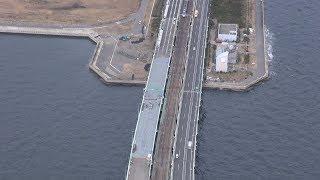 関空橋桁の設置、無事完了 連休前の4月に完全復旧へ