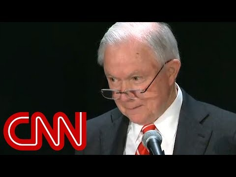 Jeff Sessions heckled