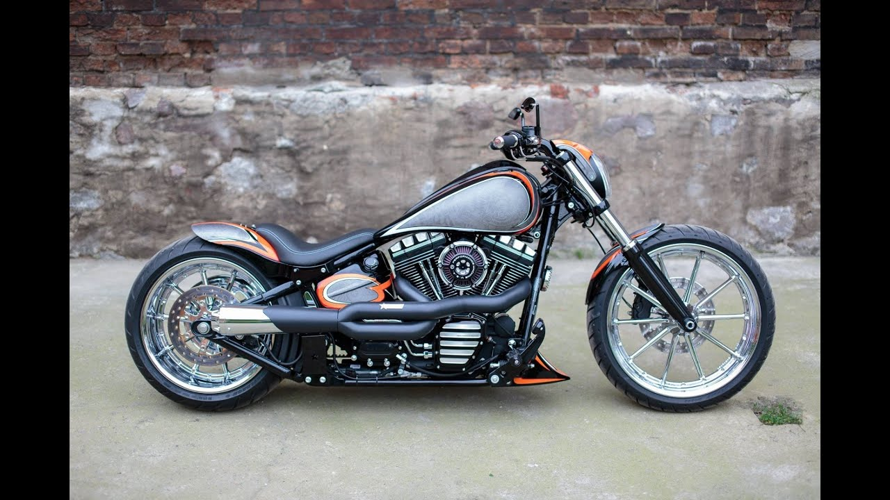 Harley softail custom
