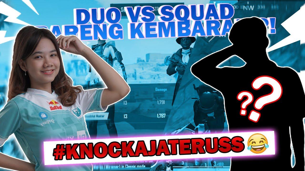 DUO VS SQUAD BARENG KEMBARAN !!