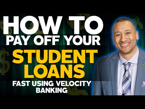 How To Pay Off Your Student Loans Faster Without Refinancing Using The Velocity Banking Strategy!