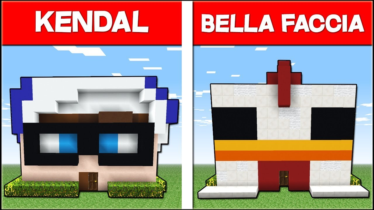 Casa di bellafaccia vs casa di kendal minecraft ita for Casa moderna bella faccia