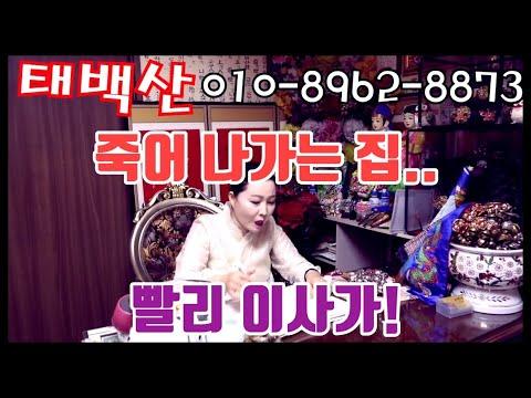 죽어 나가는 집... 빨리 이사가! 일산점집 용군TV 무당 무속인+용한점집 파주점집 김포점집 일산 태백산
