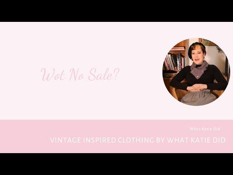 What Katie Did January Sale: Covid Stops Play