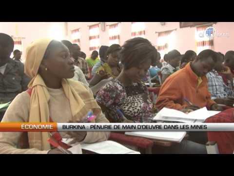 Burkina : Pénurie De Main D'œuvre Dans Les Mines