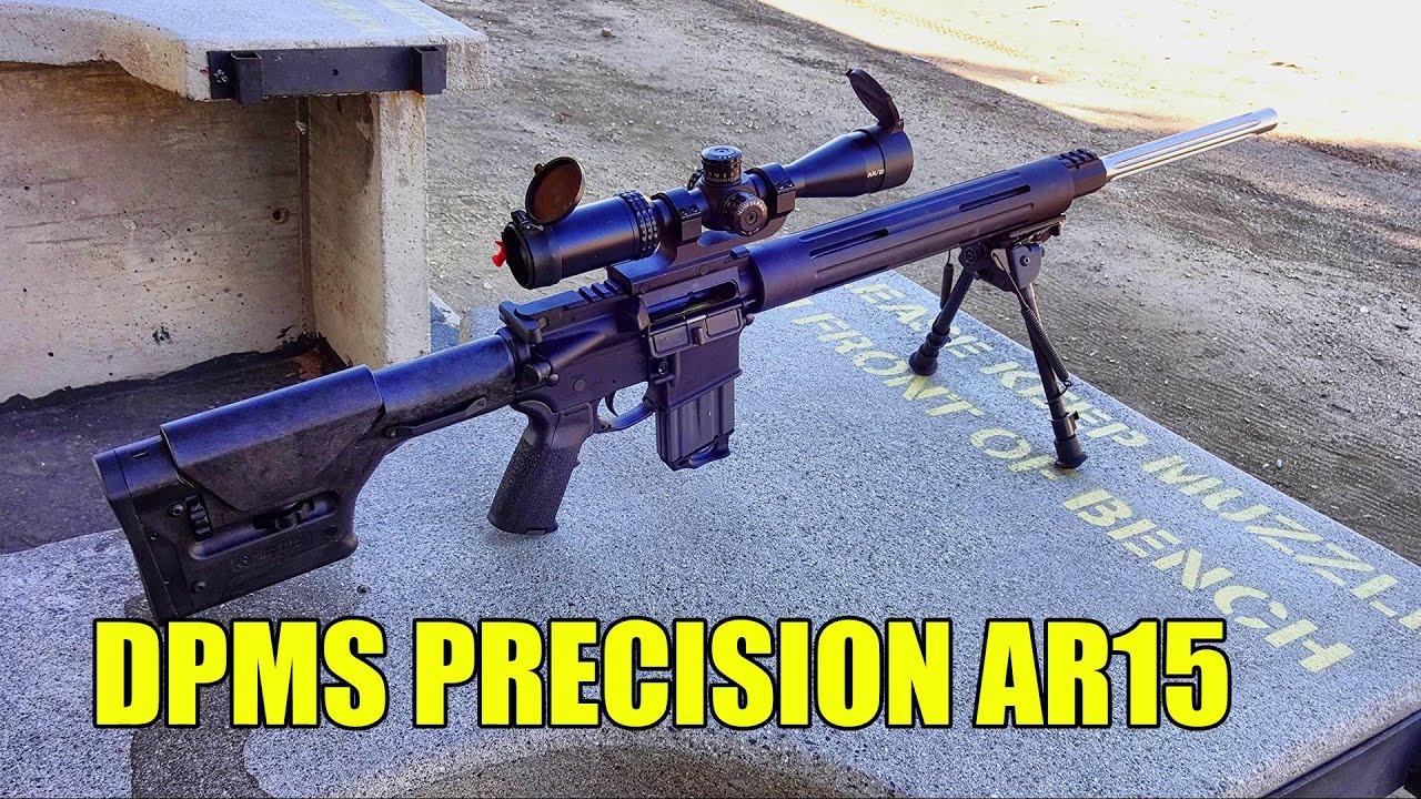 Bull barrel AR15 Shooting at 600 yards