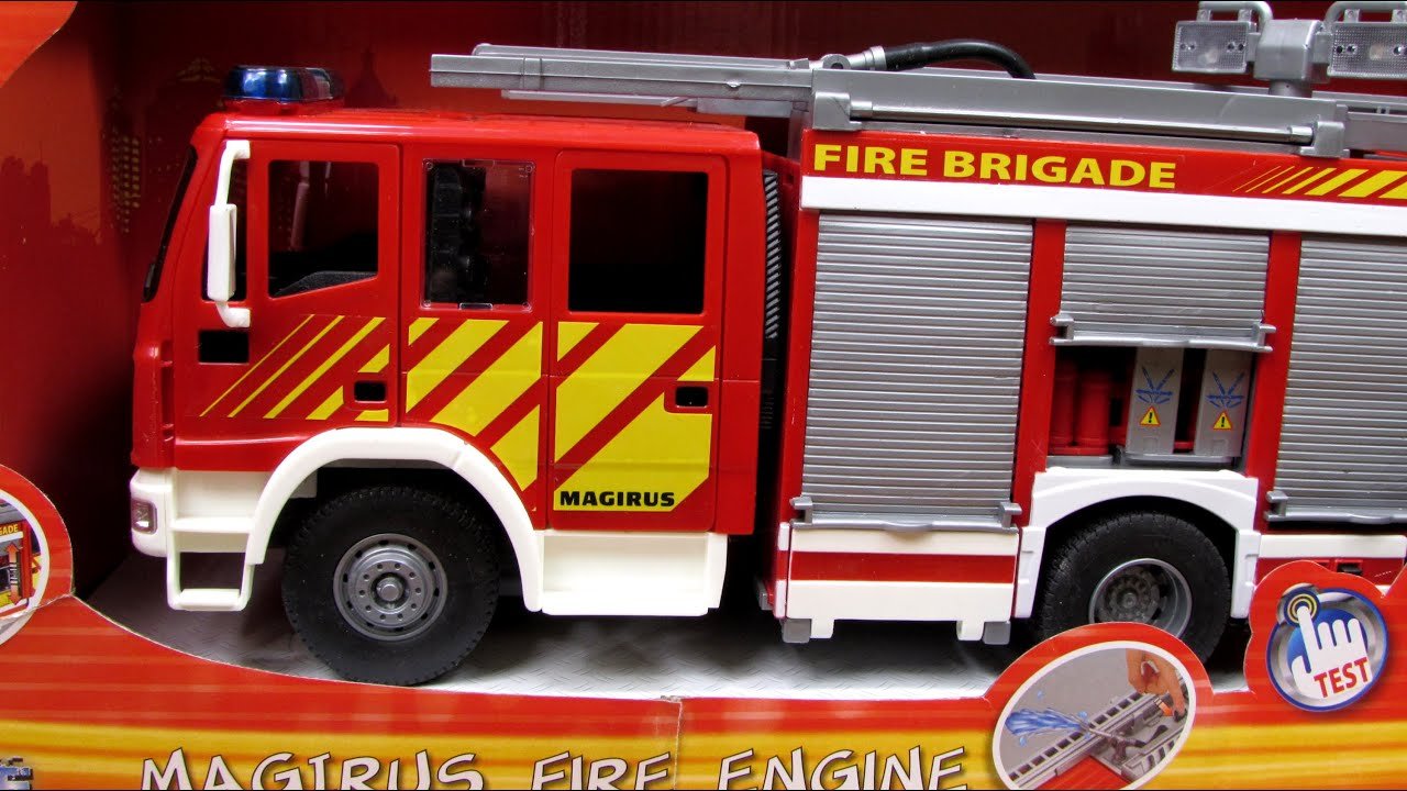 Iveco Magirus Fire Engine - Dickie - 498.7KB