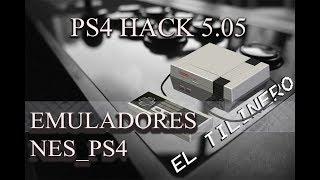 """PS4 HACK 5.05 """"EMULADOR DE NES PARA PS4"""""""