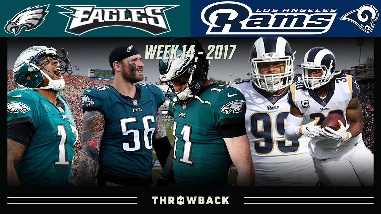 The Game that Changed EVERYTHING for Wentz! (Eagles vs. Rams Week 14, 2017)