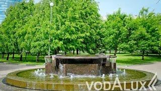 Смотреть видео Реконструкция малых фонтанов в парке 300-летия Санкт-Петербурга онлайн