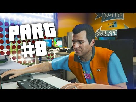 "Grand Theft Auto 5 - First Person Mode Walkthrough Part 8 ""Friend Request"" (GTA 5 PS4 Gameplay)"