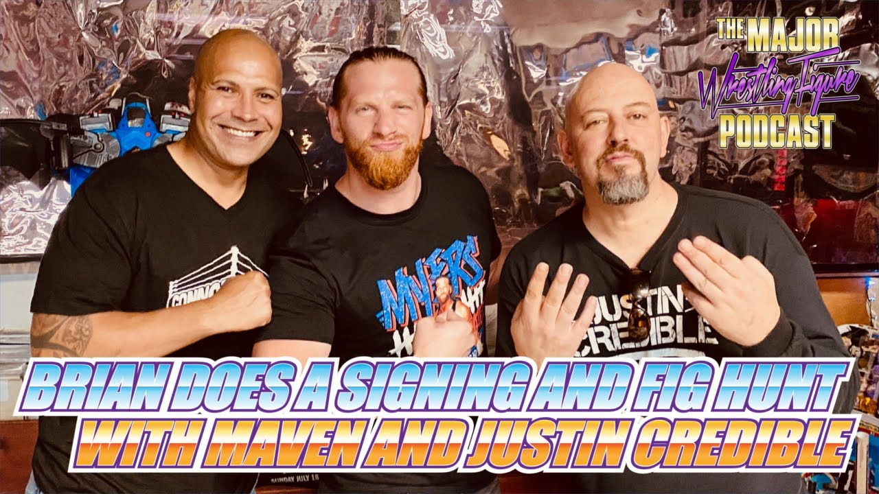 Brian Does a Signing and Fig Hunt with Maven and Justin Credible