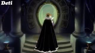 Мачеха и Волшебное зеркало из мультфильма Белоснежка и семь гномов