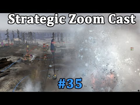 StrategicZoomCast #35 -  Awesome 2v2 with the greatest tank battle in CoH2 history.