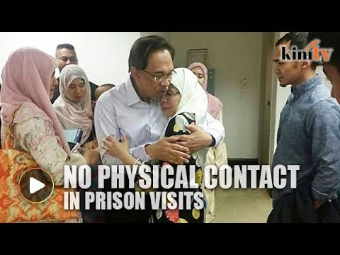 Anwar's family loses appeal - No physical contact in prison visits