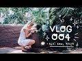VLOG 004 | MAKING ACAI BOWLS AND SKETCHING IN THE BOTANICAL GARDEN