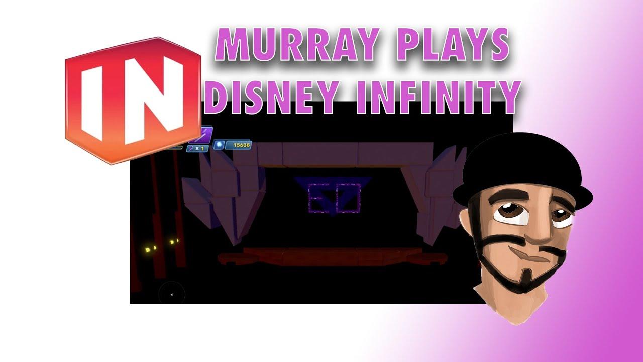 Murray Plays Disney Infinity - Theme Park Toy Boxes Part 5 - EO