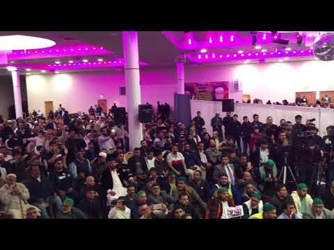 Sahabzada Haq Khateeb Hussain ali Badshah Shuhada e Karbala Conference Birmingham 2017 Part 3