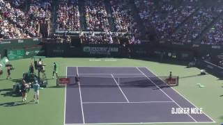 Novak Djokovic vs Nick Kyrgios - Indian Wells 2017 (HD)