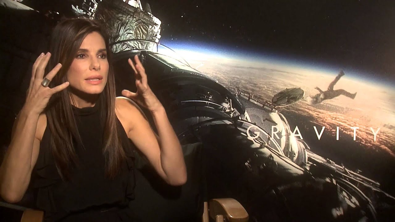 Sandra Bullock Talks Gravity 2013 Youtube