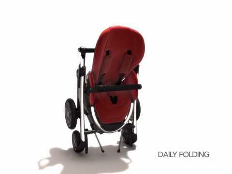 demonstration de la poussette elea de bebe confort