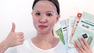 Korean Sheet Masks For Acne Prone | Oily | Sensitive | Aging Skin