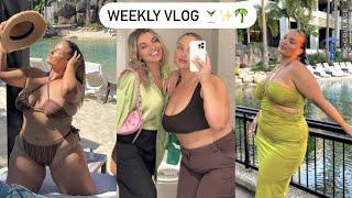 WEEKLY VLOG Weekend stay cay DIY belly chains Makeup tutorial