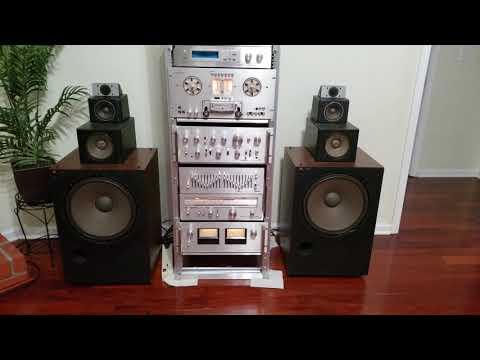 Pioneer Spec System With Technics 7070 Speakers Test