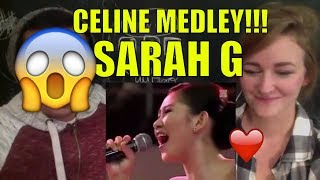 Celine Dion Medley (Live) - Sarah Geronimo REACTION