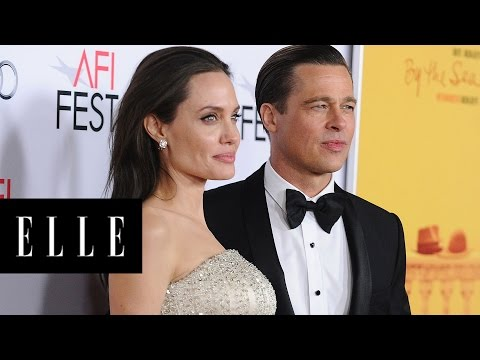 angelina-jolie-and-brad-pitt's-most-adorable-moments- -elle