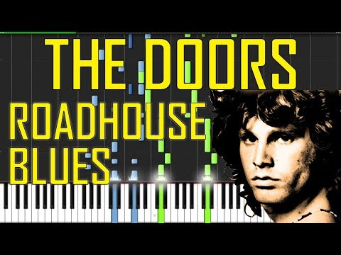 The Doors Roadhouse Blues Piano Tutorial Chords How To Play