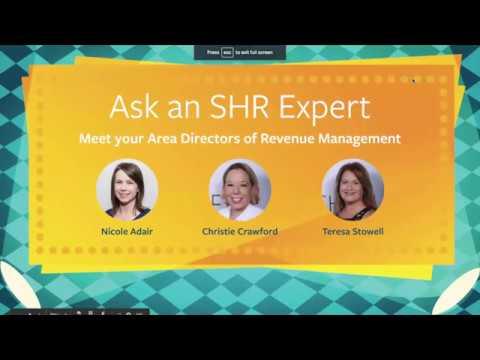 Ask An SHR Expert: Revenue Management