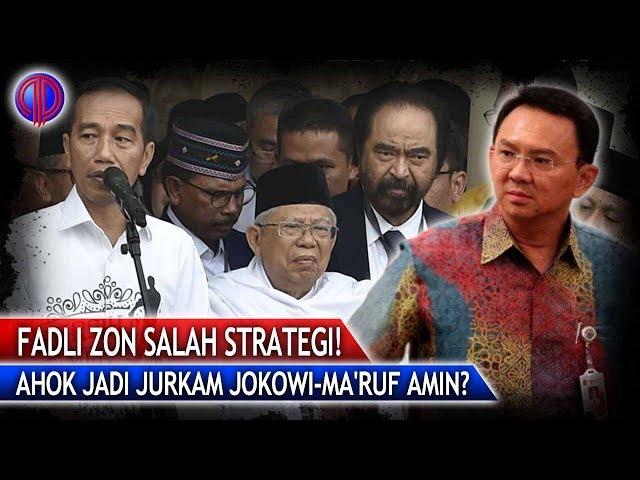 Ahok Jadi Jurkam Kubu Jokowi-Maruf Amin? Fadli Zon S4lah Strategi!