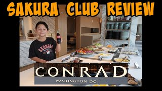 Sakura Club Review at the Conrad Hotel, Washington DC