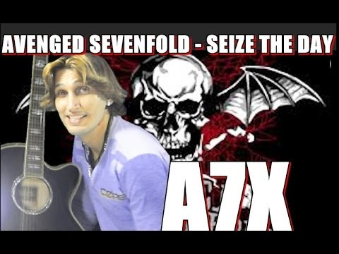 avenged sevenfold seize the day fingerstyle guitar cover acoustic guitar solo youtube. Black Bedroom Furniture Sets. Home Design Ideas