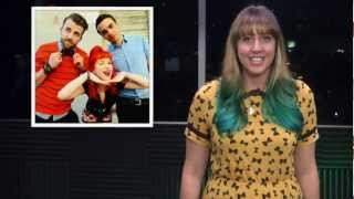 paramore all time low music notes get in the van thursday november 29 2012