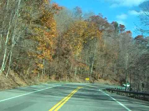 Driving Scenic Wyoming County WV